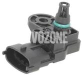 Boost pressure sensor 4 cylinder engines 1.5 T2/T3, 1.6 T2/T3/T4, 2.0 T2/T3/T4/T5/T6 (2014-) P1 P3
