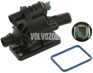 Engine coolant thermostat with temperature sensor 1.6D (-2010) P1 P3