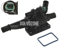 Engine coolant thermostat with temperature sensor 1.6D (2010-)/1.6D2 P1 P3