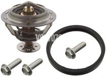 Engine coolant thermostat 5 cylinder engines P1 C30/C70 II/S40 II/V40 II(XC)/V50 P3 S60 II(XC)/V60(XC)/XC60 S80 II/V70 III/XC70 III
