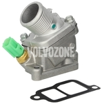 Thermostat housing with temperature sensor 2.4D/D5 P1 (-2010) manual gearbox, 2.4D/D5 P3 (-2009)