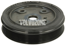 Crankshaft belt pulley 2.4D/D5 P2 S60/S80/V70 II/XC70 II/XC90