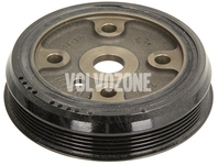 Crankshaft belt pulley 5 cylinder engines 2.0 D3/D4, 2.4D/D5 P1