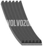 Auxiliary belt 2.0 P3 S80 II/V70 III 2215mm