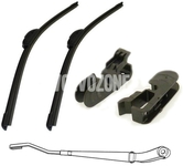 Windscreen wiper blades P2 (-2004) S60/V70 II/XC70 II/XC90, S80 (-2003) 600+530mm old type of fixation