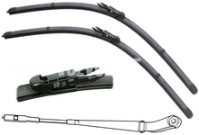 Windscreen wiper blades P2 (2005-) S60/V70 II/XC70 II, S80/XC90 (2004-) 600+550mm new type of fixation