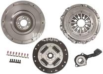 Clutch kit + single mass flywheel (retrofit) + release bearing P1 P3 MMT6 2.0D