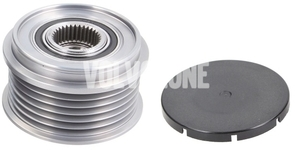 Alternator freewheel P80 100/120A measure your current freewheel dimensions