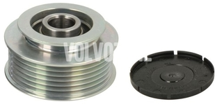 Alternator freewheel P2 diesel engines (-2004) S60/S80/V70 II/XC70 II measure your current freewheel dimensions