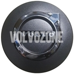 Wheel center cap (64mm) graphite, chrome