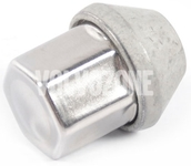 Wheel stud nut P1 C30/C70 II/S40 II/V50 chromed, with loose conical collar