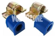 Front stabilizer bushings kit 21-23mm P2 S60/S80/V70 II/XC70 II polyurethane