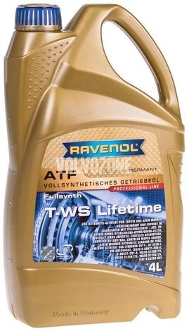 Automatic transmission oil (2011-) Ravenol ATF T-WS Lifetime 4L