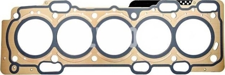 Cylinder head gasket 2.4D/D5 P2, P1 (-2010), P3 (-2009) thickness 1,27mm (5 holes)