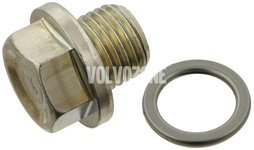 Oil drain plug with sealing X40 1.8i