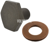 Oil drain plug with sealing 1.6D/D2 P1 P3