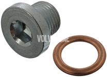 Oil drain plug with sealing 2.0D P1 P3