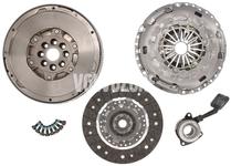 Clutch kit + double mass flywheel + release bearing MMT6 2.0D P1 (-2007)