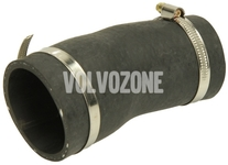 Hose from turbocharger to pipe directing to intercooler 2.5 TDI P80 S70/V70