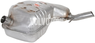 Exhaust end silencer 2.4 P2 (2003-2004) S60
