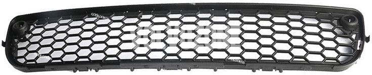 Front bumper grill P3 (-2013) S80 II with holes for parking sensors