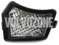 Outside mirror bottom light left P1, P3 except XC60, P2 (2004-) S60/S80/V70 II, (2007-) XC70 II/XC90