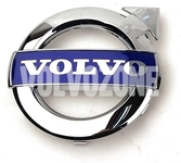 Radiator grill chrome emblem Volvo 125 mm (2010-) P1 P2, P3 (2010-) S80 II/V70 III/XC70 III, (2010-2013) S60 II/V60