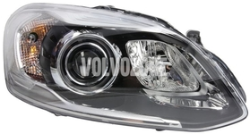 Headlight right xenon P3 XC60 (2014-) D3S with Active Bending Lights (ABL)