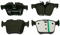 Rear brake pads (320/340mm) SPA S60 III/V60 II(XC) S90 II/V90 II(XC) XC60 II/XC90 II Variant code RC01