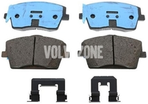 Front brake pads (322mm diameter) SPA XC40 Variant code RC01