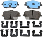Front brake pads (322mm diameter) SPA XC40 Variant code RC02