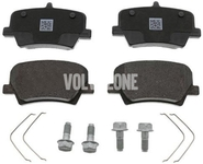 Rear brake pads (280/302mm diameter) CMA XC40 Variant code RC02