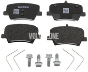 Rear brake pads (280/302mm diameter) CMA XC40 Variant code RC01
