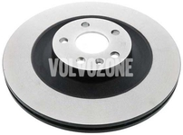 Rear brake disc (340mm) SPA XC90 II