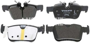 Rear brake pads (302mm diameter) SPA S60 III/V60 II(XC) S90 II/V90 II(XC) XC60 II Variant code RC02