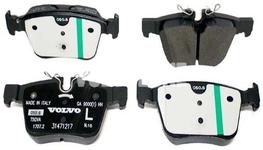 Rear brake pads (320/340mm) SPA S60 III/V60 II(XC) S90 II/V90 II(XC) XC60 II/XC90 II Variant code RC02