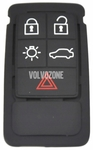 Locking system remote control housing spare buttons P3 S60 II(XC)/V60(XC)/XC60 S80 II/V70 III/XC70 III - 5 buttons