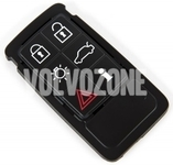 Locking system remote control housing spare buttons P3 S60 II(XC)/V60(XC)/XC60 S80 II/V70 III/XC70 III - 6 buttons