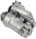 Oil filter housing, oil trap/separator, crankcase breather 2.4D/D5 P1 (-2010), P2, P3 (-2009)