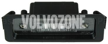 Licence plate light P1 C30
