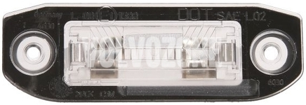 Licence plate light P1 C70 II/S40 II/V50, P2 (2004-) S80/XC90, P3 S60 II(XC)/V60(XC)/XC60 S80 II/V70 III/XC70 III