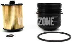 Oil filter cover (filter included) 1.5 T2/T3, 2.0 T3/T4/T5/T6/T8, 2.0 D2/D3/D4/D5/B4/B5 P1 P3 SPA (2014-) 4 cylinder engines
