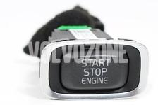 Engine Start-Stop switch P3 (2014-) S60 II(XC)/V60(XC)/XC60 S80 II/V70 III/XC70 III, P1 V40 II(XC)