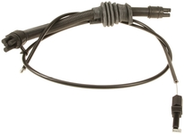 Hood lock release cable P80 C70/S70/V70(XC) rear section