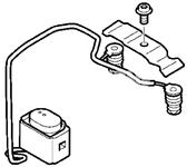 Temperature sensor, fuel auxiliary heating S60 II(XC)/V60(XC)/XC60 S80 II/V70 III/XC70 III