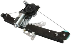 Window winder mechanism rear left P2 S60/S80/V70 II/XC70 II with motor, driver side