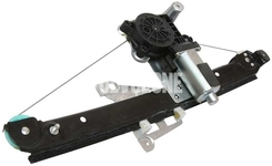 Window winder mechanism rear right P2 S60/S80/V70 II/XC70 II with motor, passenger side