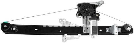 Window winder mechanism rear right P2 XC90 with motor, passenger side