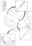Tailgate drive unit SPA V60 II(XC)