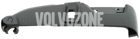 Front seat side panel passenger side P2 (2007-) XC90 electrically adjustable seats, massage, ventilation, dark grey
